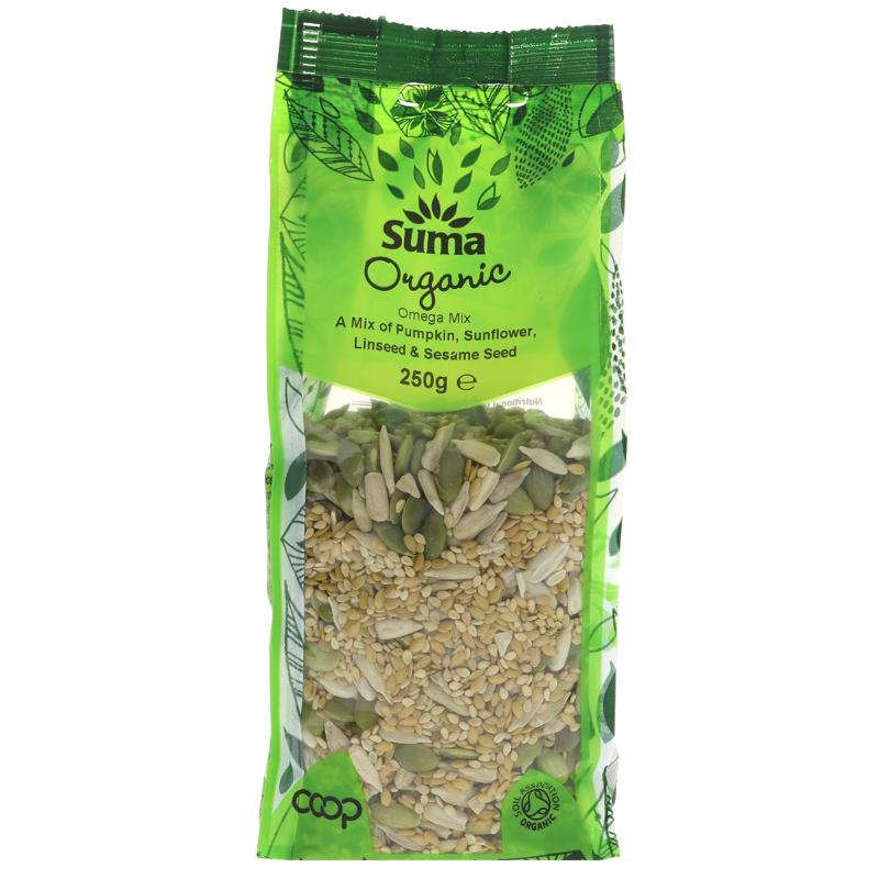 Omega Seed Mix 250g - Shipping From Just £2.99 Or FREE When You Spend £60 Or More