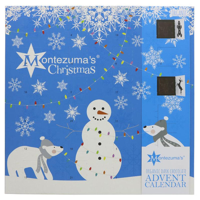 Montezuma's Dark Chocolate Advent Calendar 240g