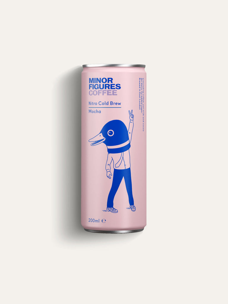 Minor Figures Nitro Cold Brew Mocha - 200ml - Shipping From Just £2.99 Or FREE When You Spend £60 Or More