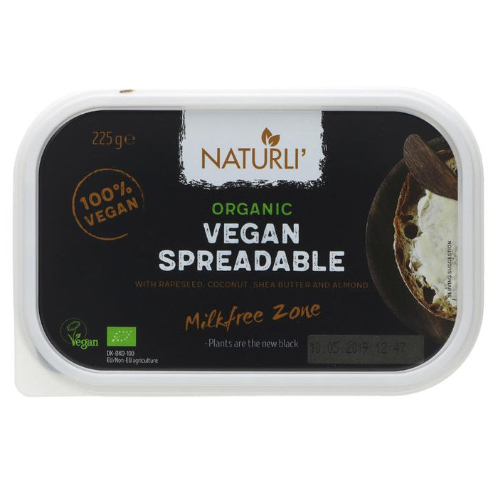 Naturli Organic Vegan Spreadable 'Butter' 225g