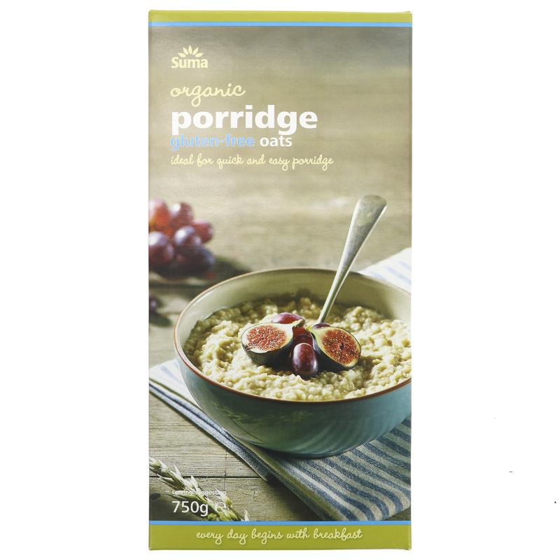 Porridge Oats Organic Gluten Free 750g - Shipping From Just £2.99 Or FREE When You Spend £60 Or More