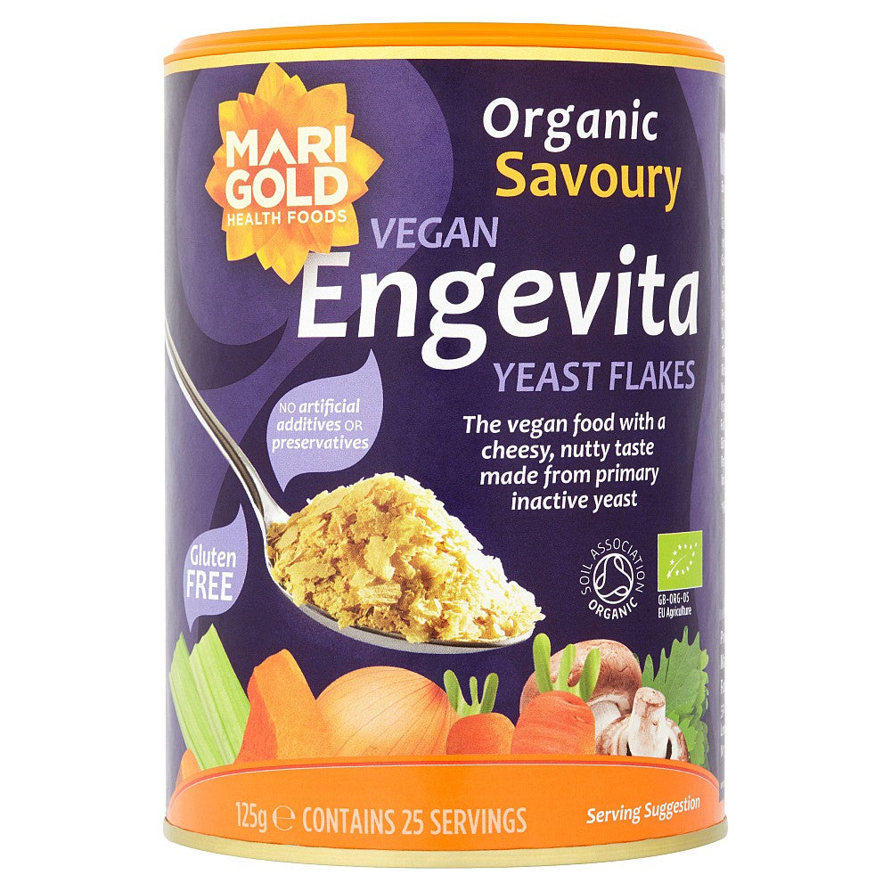 Organic Nutritional Yeast 125g - Shipping From Just £2.99 Or FREE When You Spend £60 Or More