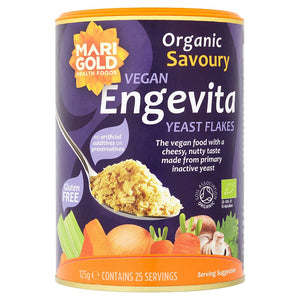 Organic Nutritional Yeast 125g - Shipping From Just £2.99 Or FREE When You Spend £55 Or More
