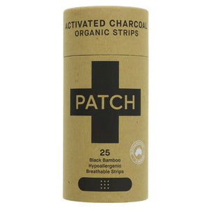 Patch Bamboo Plasters - Charcoal 25 - Shipping From Just £2.99 Or FREE When You Spend £60 Or More
