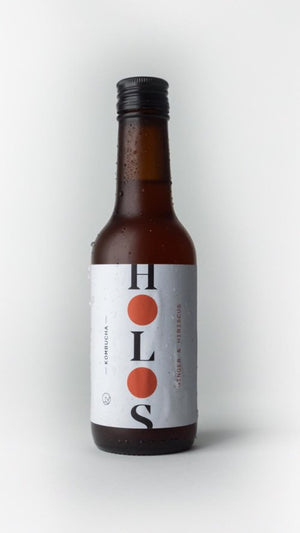 HOLOS Kombucha Ginger & Hibiscus 250ml - Shipping From Just £2.99 Or FREE When You Spend £60 Or More