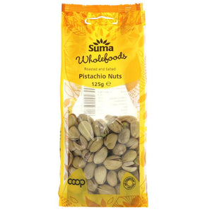 Roasted & Salted Pistachio 125g - Shipping From Just £2.99 Or FREE When You Spend £55 Or More