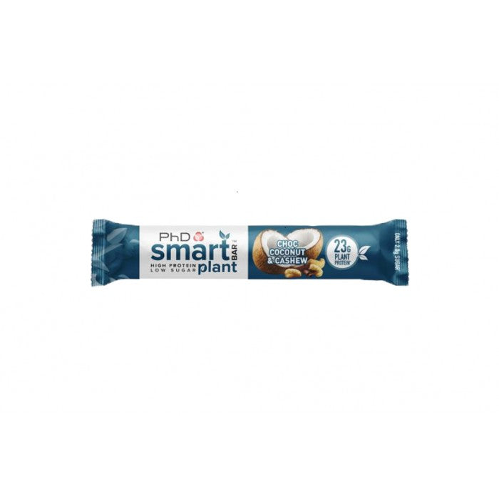PhD Smart Bar Plant Chocolate Coconut and Cashew 64g