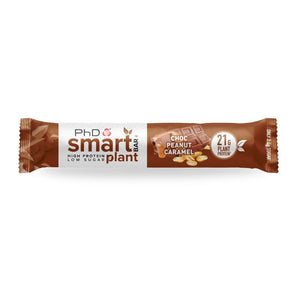 PhD Smart Bar Plant Chocolate Peanut Caramel 64g