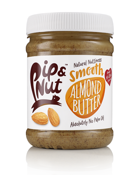 Pip & Nut Smooth Almond Butter - 225g - Shipping From Just £2.99 Or FREE When You Spend £60 Or More