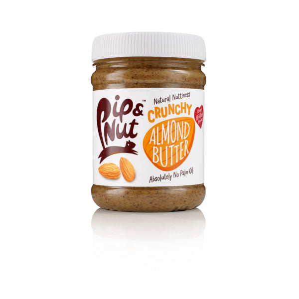 Pip & Nut Crunchy Almond Butter - 225g - Shipping From Just £2.99 Or FREE When You Spend £60 Or More