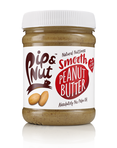 Pip & Nut Smooth Peanut Butter - 225g - Shipping From Just £2.99 Or FREE When You Spend £60 Or More