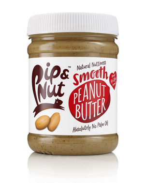 Pip & Nut Smooth Peanut Butter - 225g