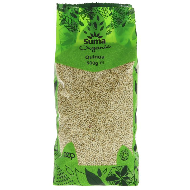 Suma Organic Quinoa 500g - Shipping From Just £2.99 Or FREE When You Spend £60 Or More