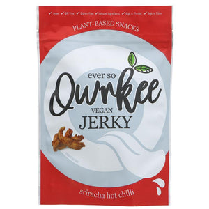 Qwrkee Sriracha Hot Chilli Jerky 70g - Shipping From Just £2.99 Or FREE When You Spend £60 Or More