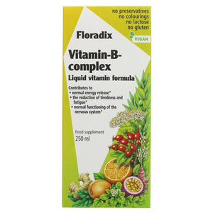 Floradix Vitamin B Complex 250ml - Shipping From Just £2.99 Or FREE When You Spend £60 Or More