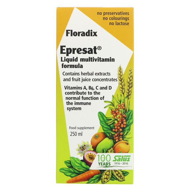 Floradix Epresat Liquid Multivitamin - 250ml - Shipping From Just £2.99 Or FREE When You Spend £60 Or More