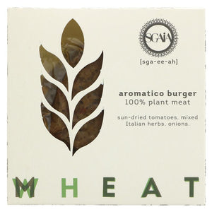 Sgaia Mheat Burger Aromatico 2x110g - Shipping From Just £2.99 Or FREE When You Spend £60 Or More
