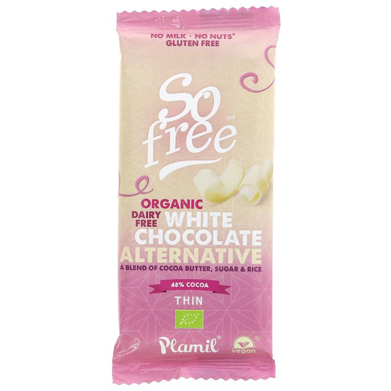 So Free Organic White Chocolate Bar 70g - Shipping From Just £2.99 Or FREE When You Spend £60 Or More