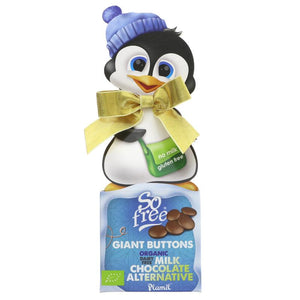 So Free Penguin Box With Choc Buttons 65g