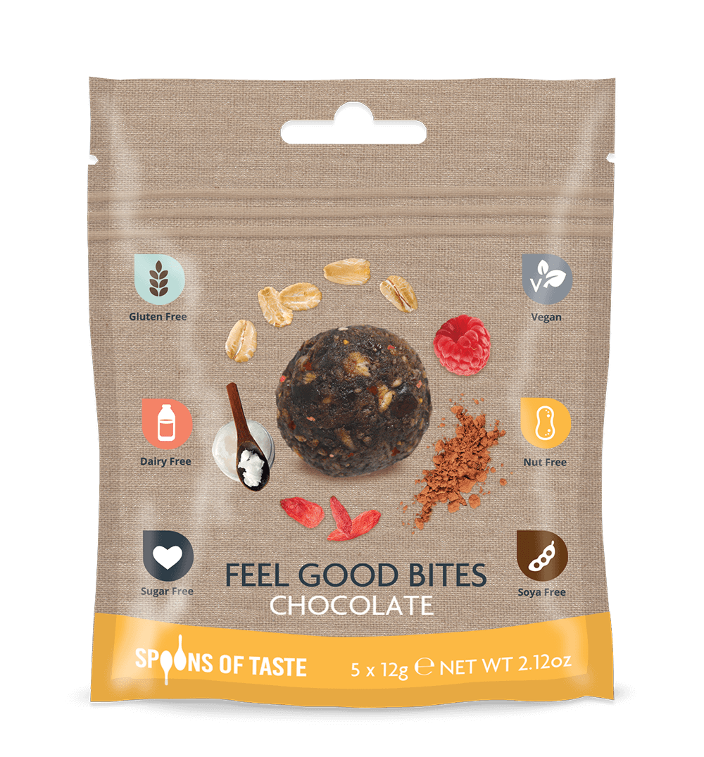 Spoons of Taste Feel Good Bites Chocolate - 60g