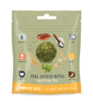 Spoons of Taste Feel Good Bites Matcha Tea - 60g