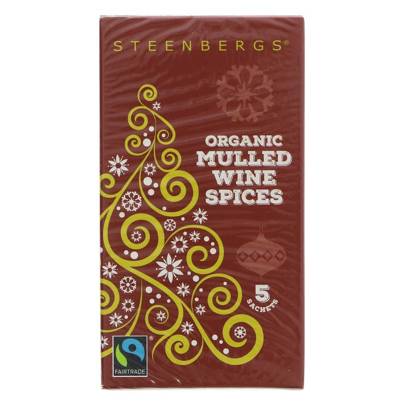 Steenbergs Mulled Wine Sachets-Fairtrade 20g - Shipping From Just £2.99 Or FREE When You Spend £60 Or More