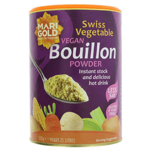 Marigold Bouillon Powder - Reduced Salt 500g - Shipping From Just £2.99 Or FREE When You Spend £60 Or More