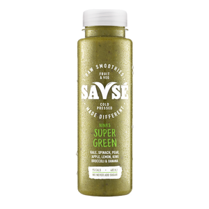 Savse Super Green Smoothie 250ml - Shipping From Just £2.99 Or FREE When You Spend £60 Or More