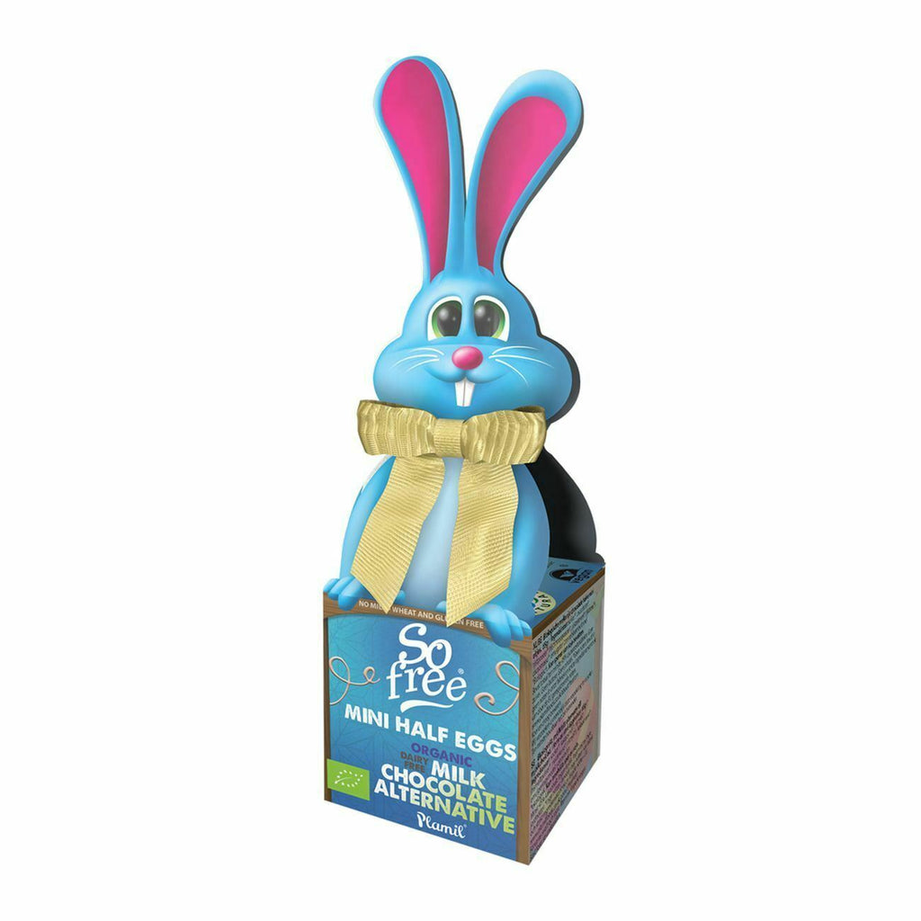 So Free Bow-Tie Bunny Mini Half Eggs 65g