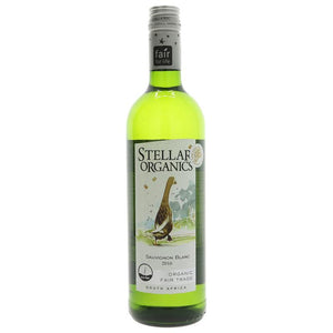 Stellar Organics Sauvignon Blanc 75cl - Shipping From Just £2.99 Or FREE When You Spend £60 Or More