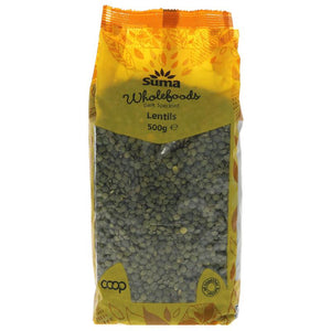 Suma Dark Speckled Lentils 500g