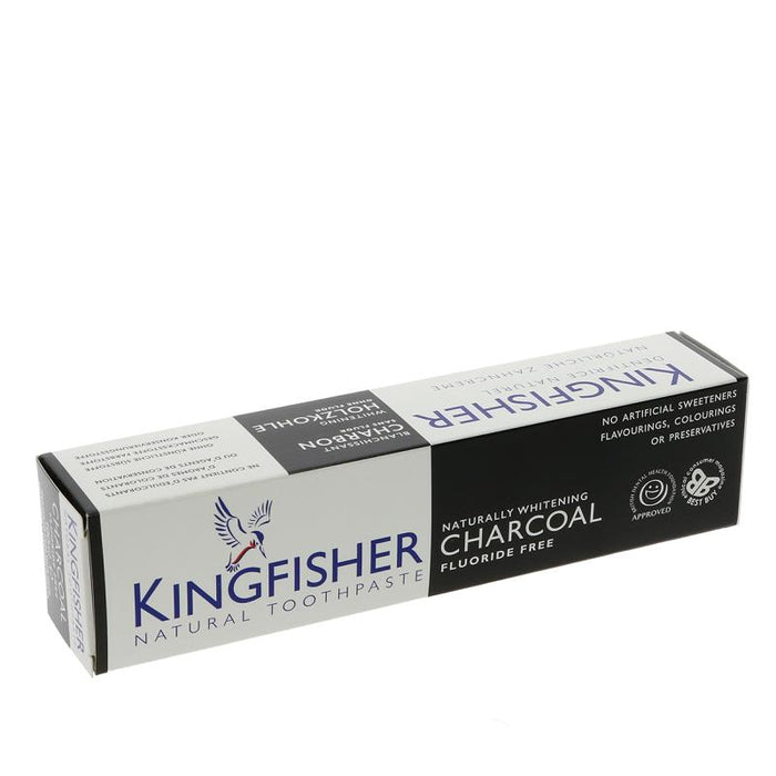 Kingfisher Charcoal Naturally Whitening 100ml