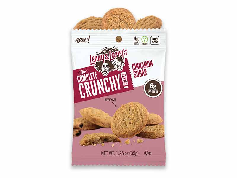Lenny & Larry's Complete Crunchy Cookies - Cinnamon Sugar 35g