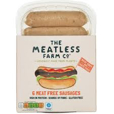 The Meatless Farm Co 6 Meat Free Sausages 300g - Shipping From Just £2.99 Or FREE When You Spend £60 Or More