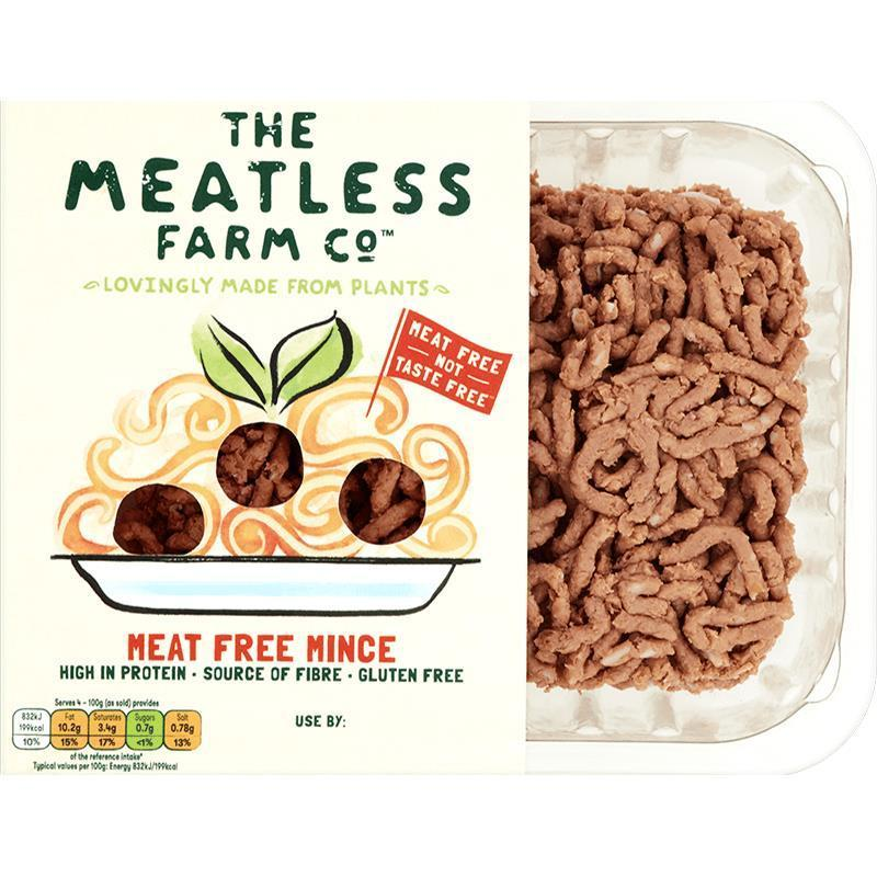 The Meatless Farm Co Meat Free mince 400g - Shipping From Just £2.99 Or FREE When You Spend £60 Or More