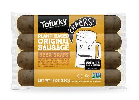 Tofurky Beer Brat Style Sausage 250g - Shipping From Just £2.99 Or FREE When You Spend £60 Or More