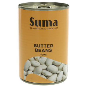 Suma Butter Beans - 400g - Shipping From Just £2.99 Or FREE When You Spend £60 Or More