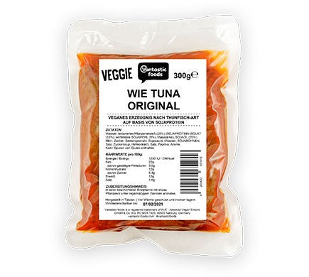 Vantastic Foods Veggie like Tuna original 300g - Shipping From Just £2.99 Or FREE When You Spend £60 Or More