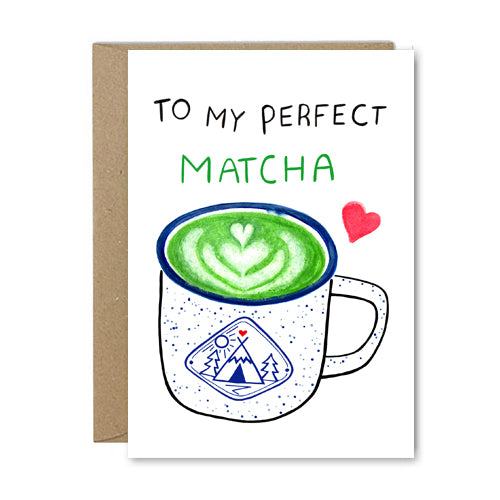 Rose & Daff - To My Perfect Matcha - Shipping From Just £2.99 Or FREE When You Spend £60 Or More
