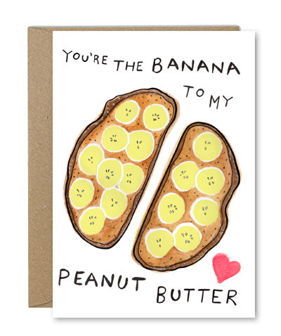 Rose & Daff - Banana To My Peanut Butter - Shipping From Just £2.99 Or FREE When You Spend £60 Or More