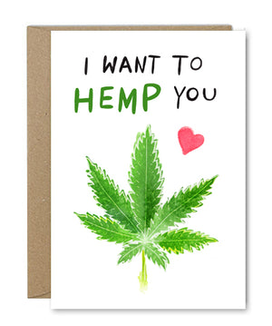 Rose & Daff - I Want to Hemp You - Shipping From Just £2.99 Or FREE When You Spend £55 Or More