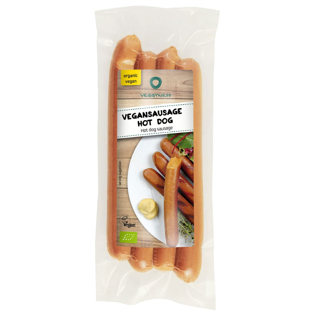 Veggyness Hot Dogs 200g - Shipping From Just £2.99 Or FREE When You Spend £55 Or More