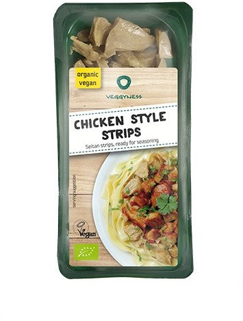 Veggyness Chicken Style Strips - 200g - Shipping From Just £2.99 Or FREE When You Spend £55 Or More