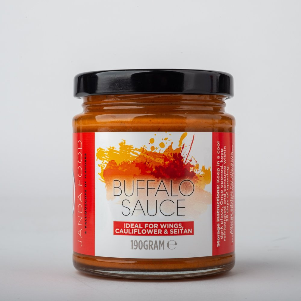Janda Food Buffalo Sauce 190g - Shipping From Just £2.99 Or FREE When You Spend £60 Or More