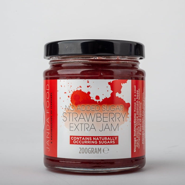 Janda Food No Added Sugar Strawberry Jam 200g