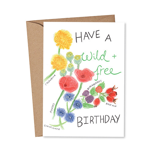 Rose & Daff - Have A Wild + Free Birthday - Shipping From Just £2.99 Or FREE When You Spend £55 Or More