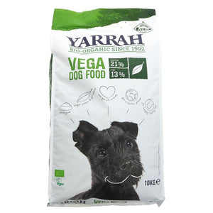 Yarrah Dogfood Vegetarian Organic - 10 kg - Shipping From Just £2.99 Or FREE When You Spend £60 Or More