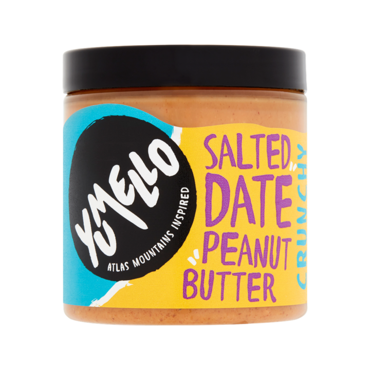 Yumello Salted Date Crunchy Peanut Butter 250g - Shipping From Just £2.99 Or FREE When You Spend £60 Or More