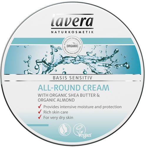 Lavera Organic All-Round Cream 150 ml - Shipping From Just £2.99 Or FREE When You Spend £60 Or More