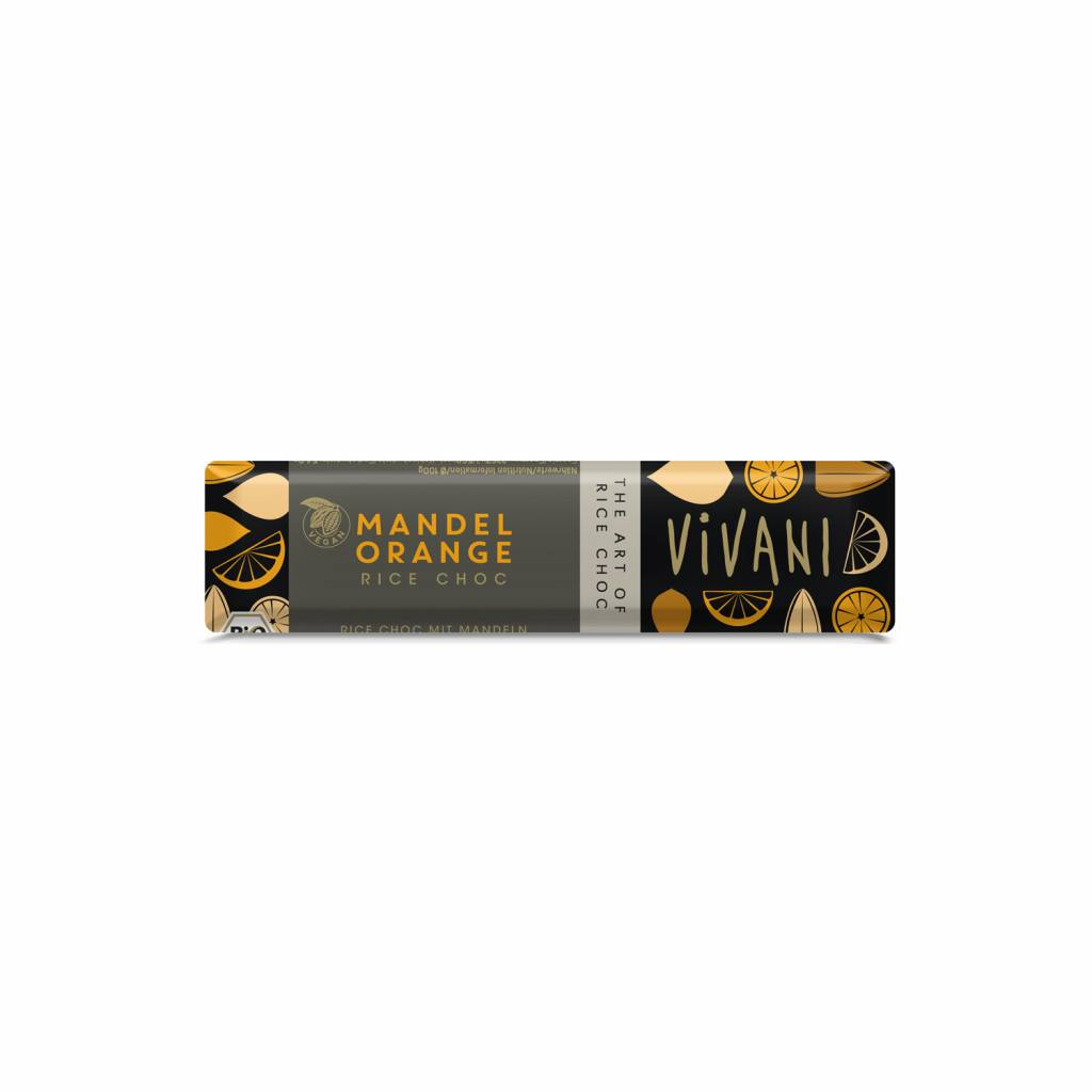 Vivani ORG Vegan Almond Orange Choc 35g